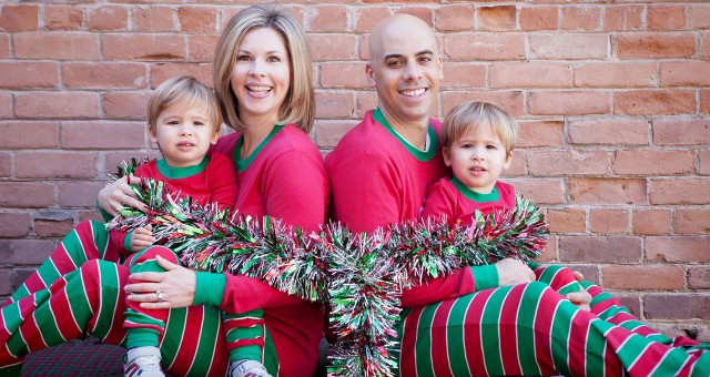 Holiday Photography Session | The Schaefer Family