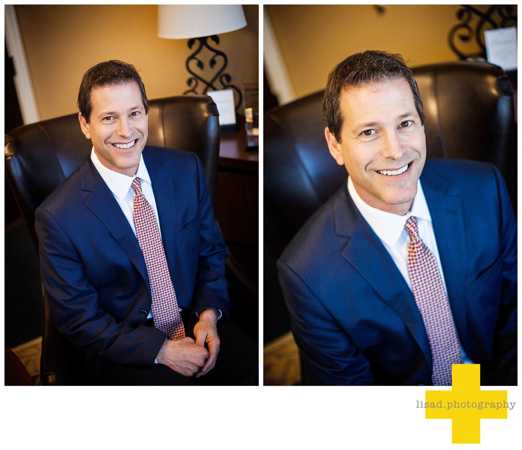 Business headshots photography for Allan Flader of RBC wealth management taken by lisa d. photography in phoenix