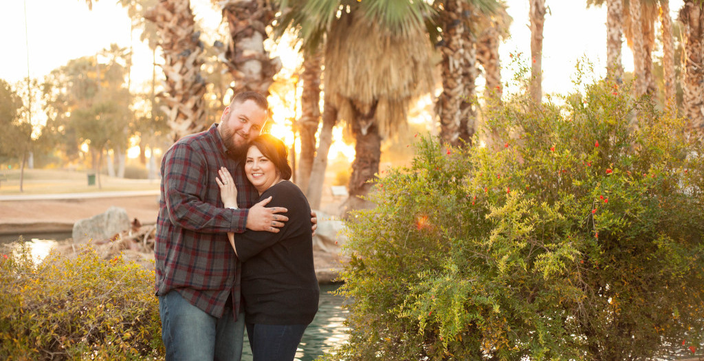 Encanto Park Anniversary Photo Session | Brooke + Dan