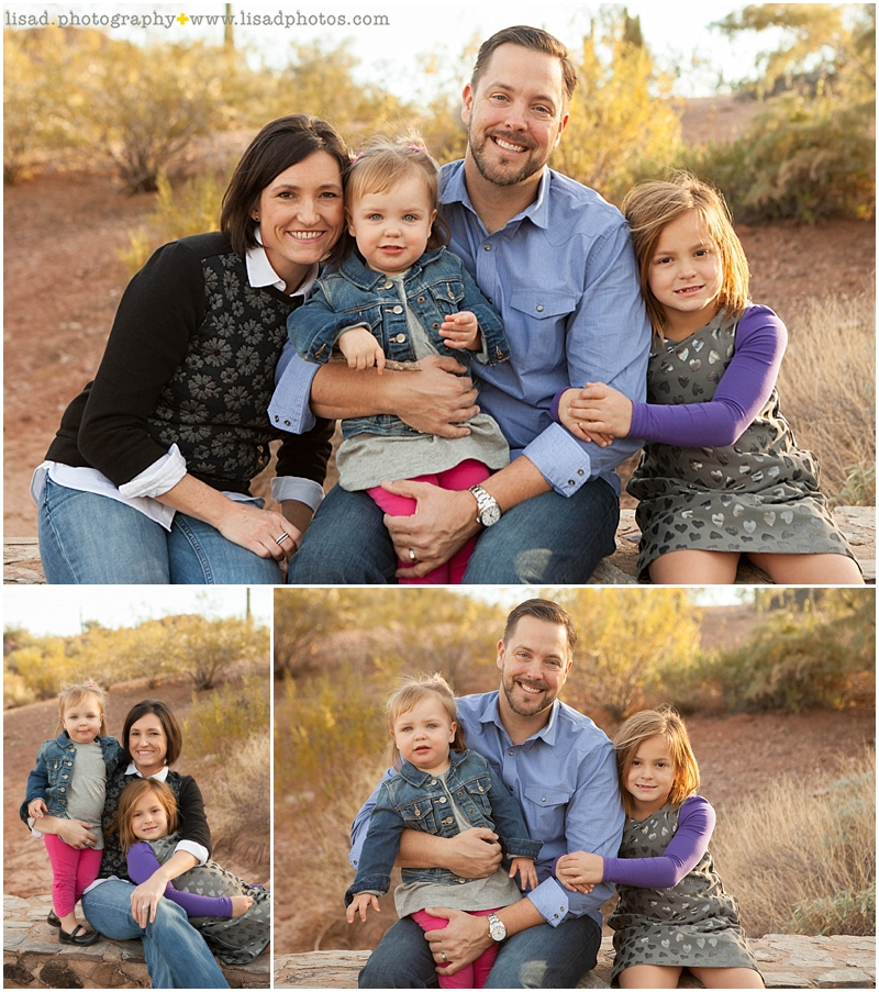 papago park family photos | Lisa d. Photography