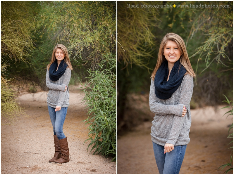 Phoenix Senior Photographer | Cactus Shadows sophmore