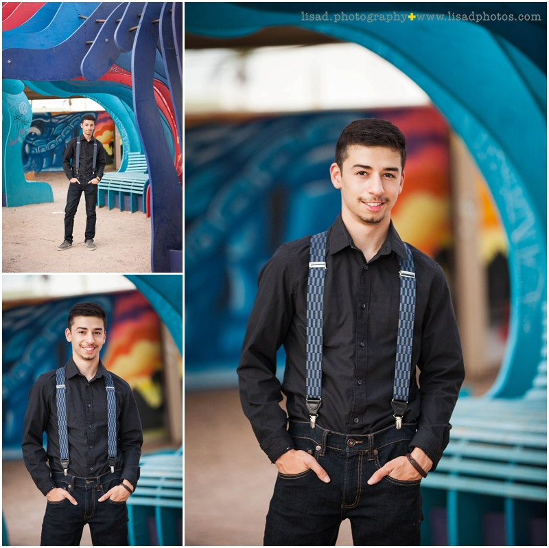 Phoenix Senior Photographer | downtown Phoenix senior guy | North High School