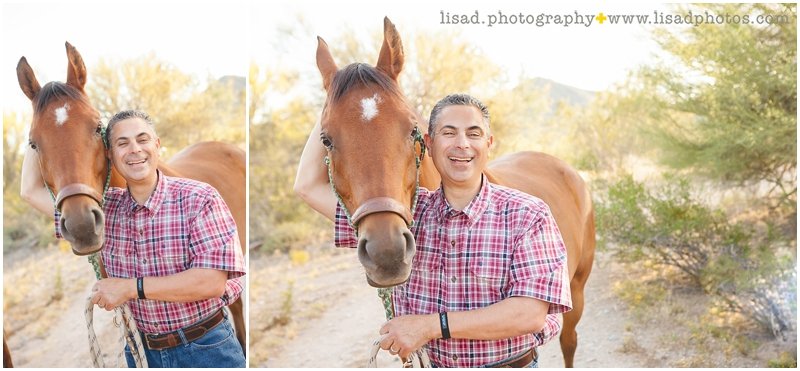 Cave Creek Photographer | Cave Creek Horse Ranch | Chiropractor headshots by LIsa d. Photography