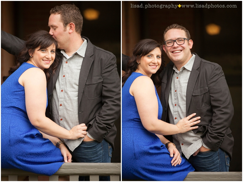 Downtown Phoenix Engagement Session with Lisa d. Photography