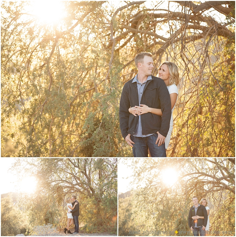 phoenix engagement session photographed by Lisa d. Photography