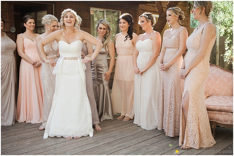 Whispering Tree Ranch Wedding in Laveen, AZ | Lisa d. Photography | Rustic wedding dress