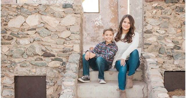 Rustic Phoenix Child Photography | Scorpion Gulch