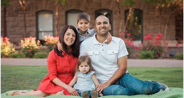 Tempe Photography at Old Main | The Lucas Family
