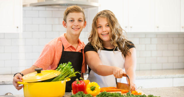 Kids Cooking | Children's Lifestyle Photography
